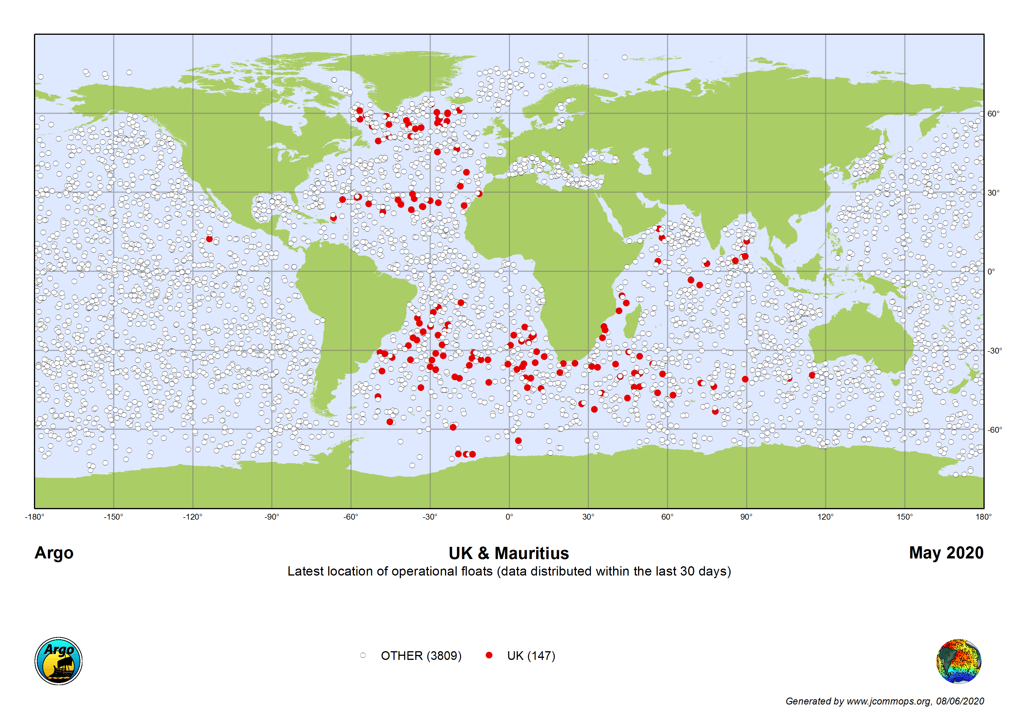 Status of the international Argo array