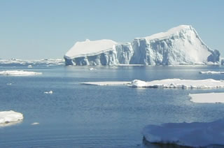 An iceburg in the Southern Ocean